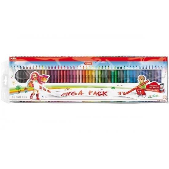 50 stuks top kwaliteit viltstiften