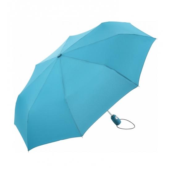 Automatische zak paraplu lichtblauw