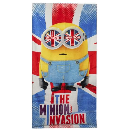 Badlaken The Minion Invasion 70 x 140 cm