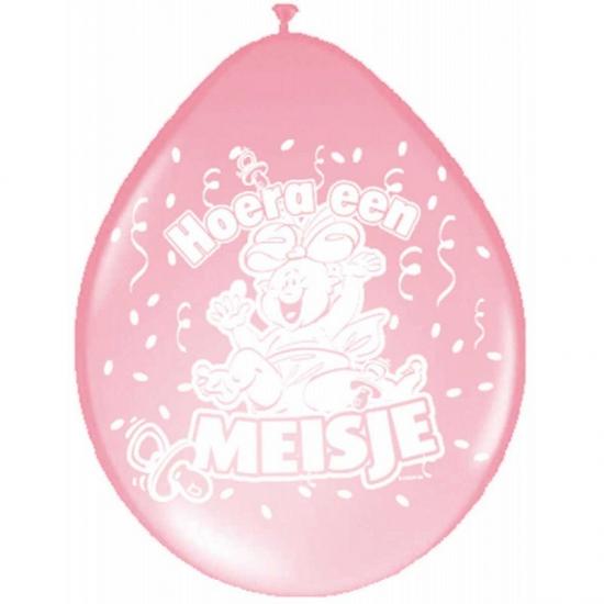 Ballonnen geboorte meisje