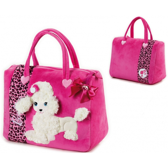 Barbie witte poedel shopping tas