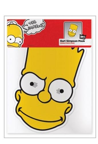 Bart Simpson masker van karton