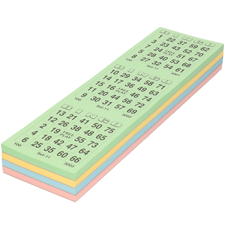 Bingo kaarten 1 75
