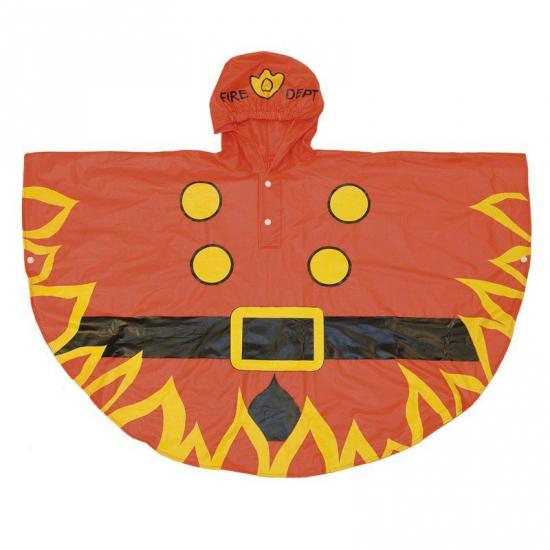 Brandweer poncho voor kinderen