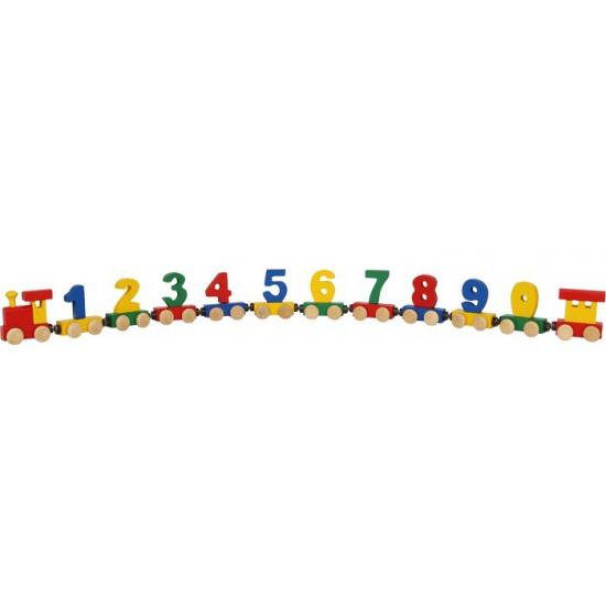 Cijfertrein met magneten