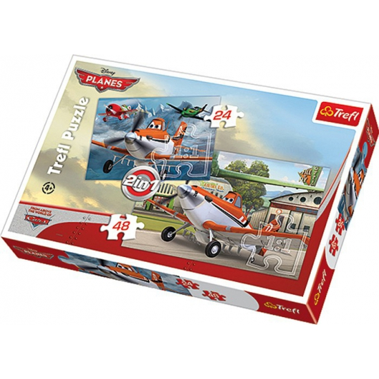 Disney Planes puzzels 2 in 1