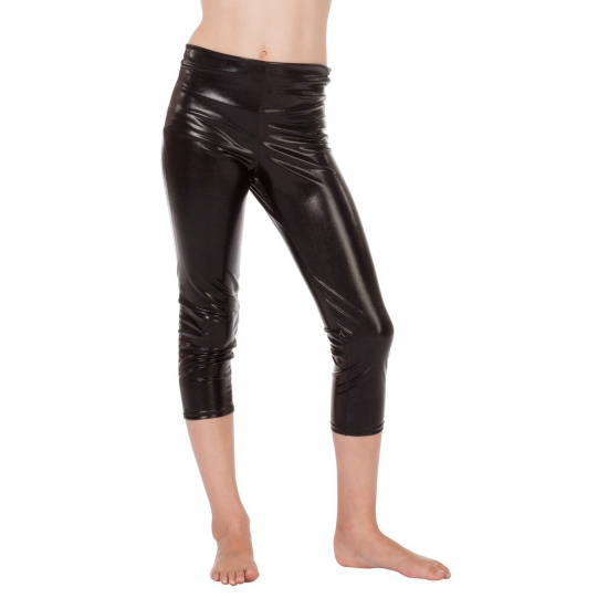 Driekwart kinder legging zwart