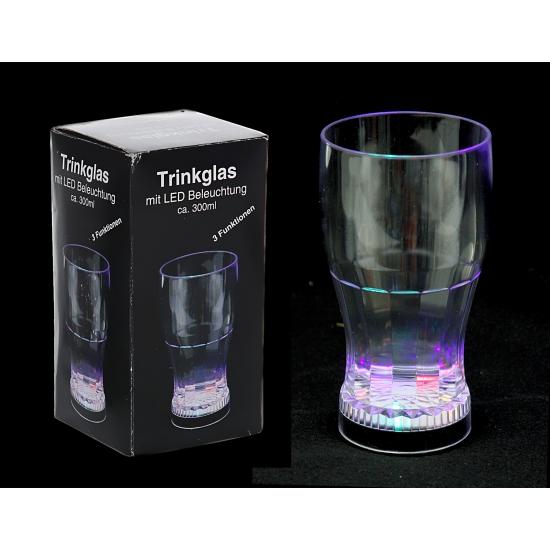 Drinkglas met ledverlichting
