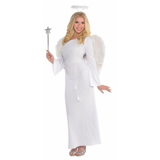 Engel verkleedkleding voor dames