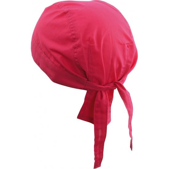 Fel roze bandana uni 1