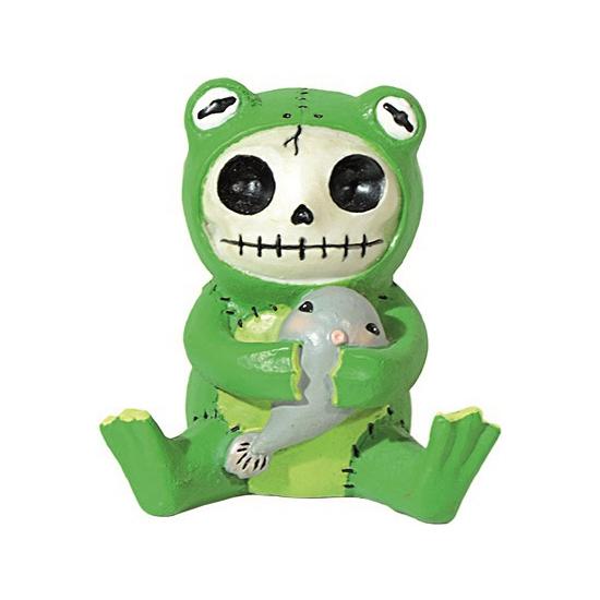 Furry Bones beeldje kikker Froggie