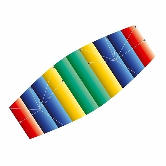 Gekleurde matras vlieger