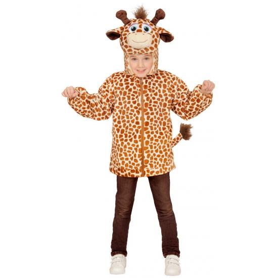 Giraffe verkleed vest voor kinderen