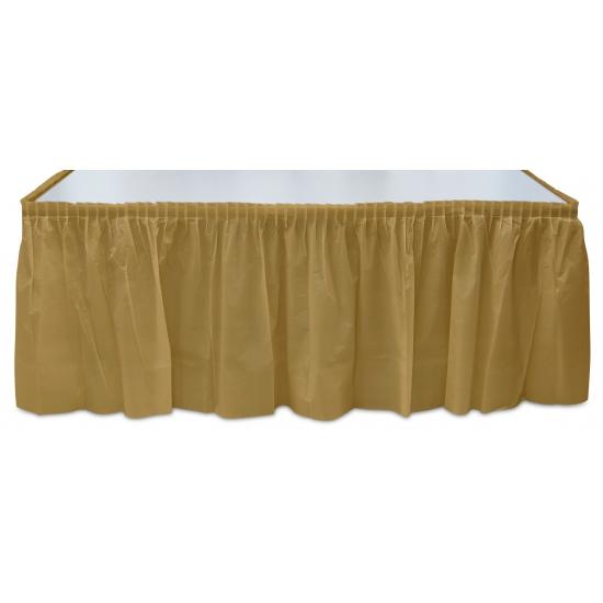 Gouden tafelrok
