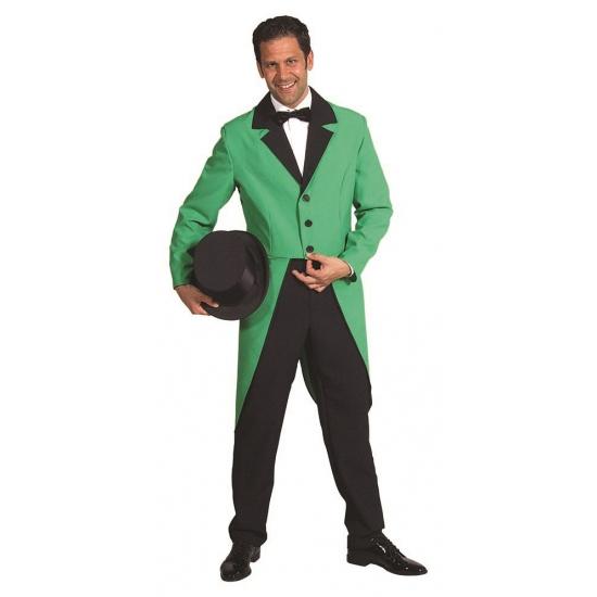 Groene slipjas voor heren