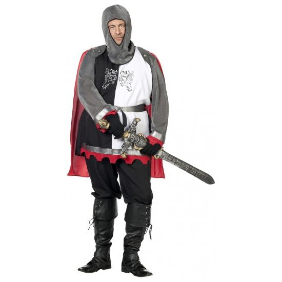 Grote maat ridder kostuum voor heren