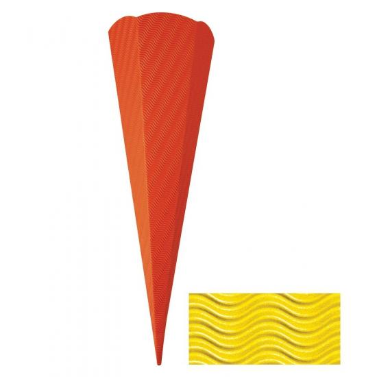 Hobby materiaal knutsel zak geel