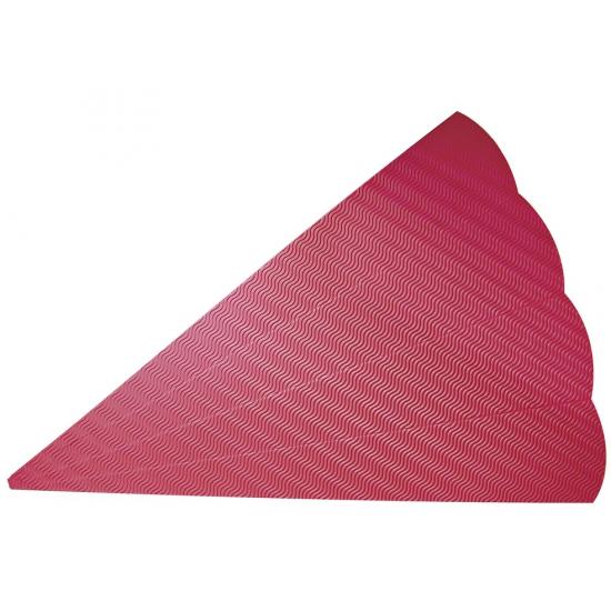 Hobby materiaal knutsel zak rood