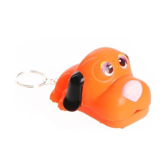 Hond tandarts spel aan sleutelhanger