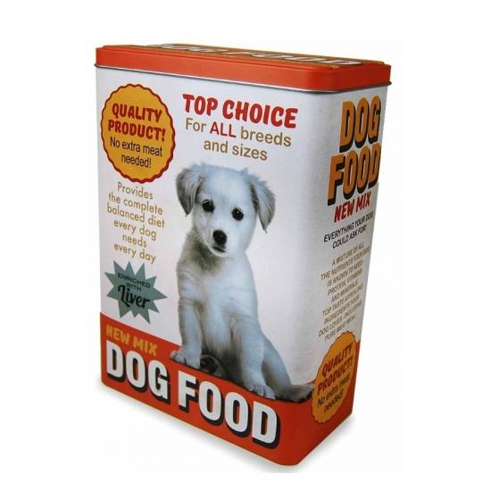 Hondenbrokken bewaarblik 24 cm