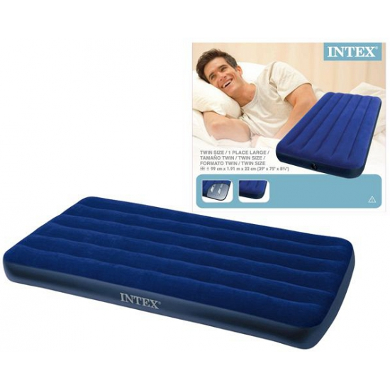 Intex 1 persoons luchtbed 99 x 191 cm