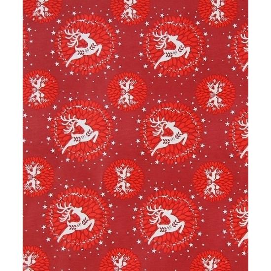 Kerst inpakpapier 8 meter type 6
