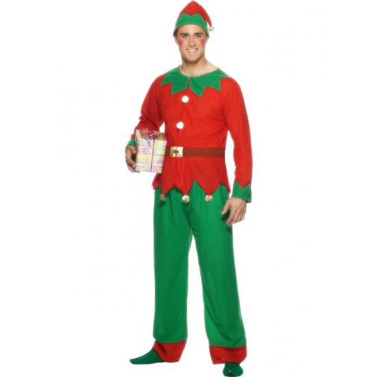 Kerstelf outfit voor mannen
