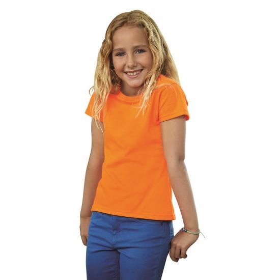 Koningsdag Oranje t shirt voor meiden