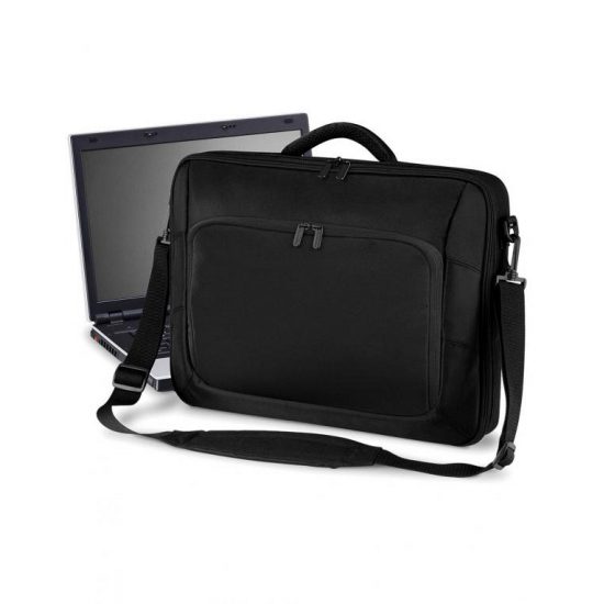 Laptop schoudertas 10 Liter zwart