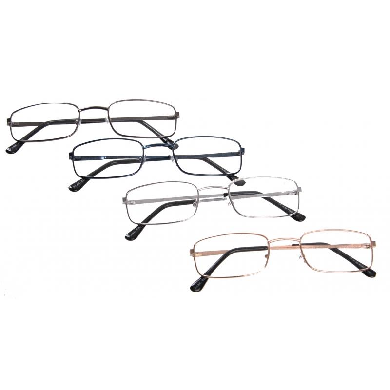 Leesbril 1.00 rechthoekig