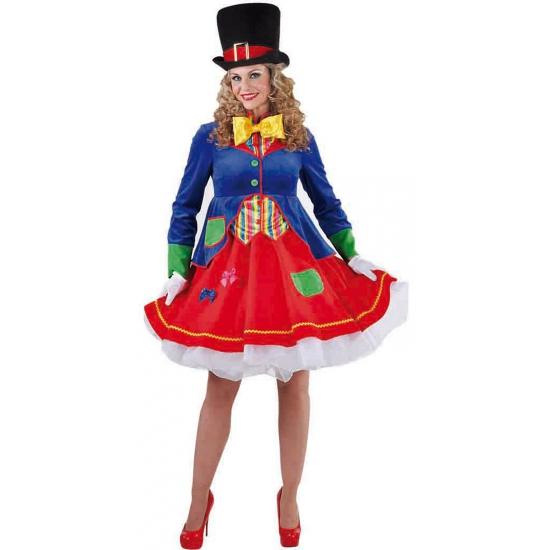 Luxe clowns jurkje Lucky voor dames