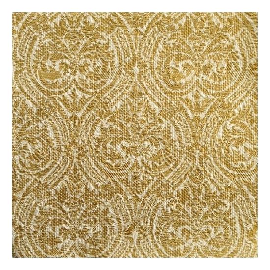 Luxe servetten barok motief goud 3 laags 15 stuks
