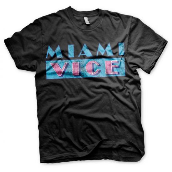 Miami Vice t shirt heren