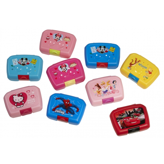 Minnie Mouse lunchbox lichtroze 18 x 12 cm