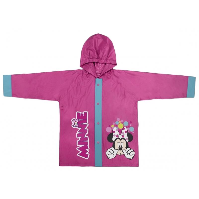 Minnie Mouse regenjas roze voor meisjes