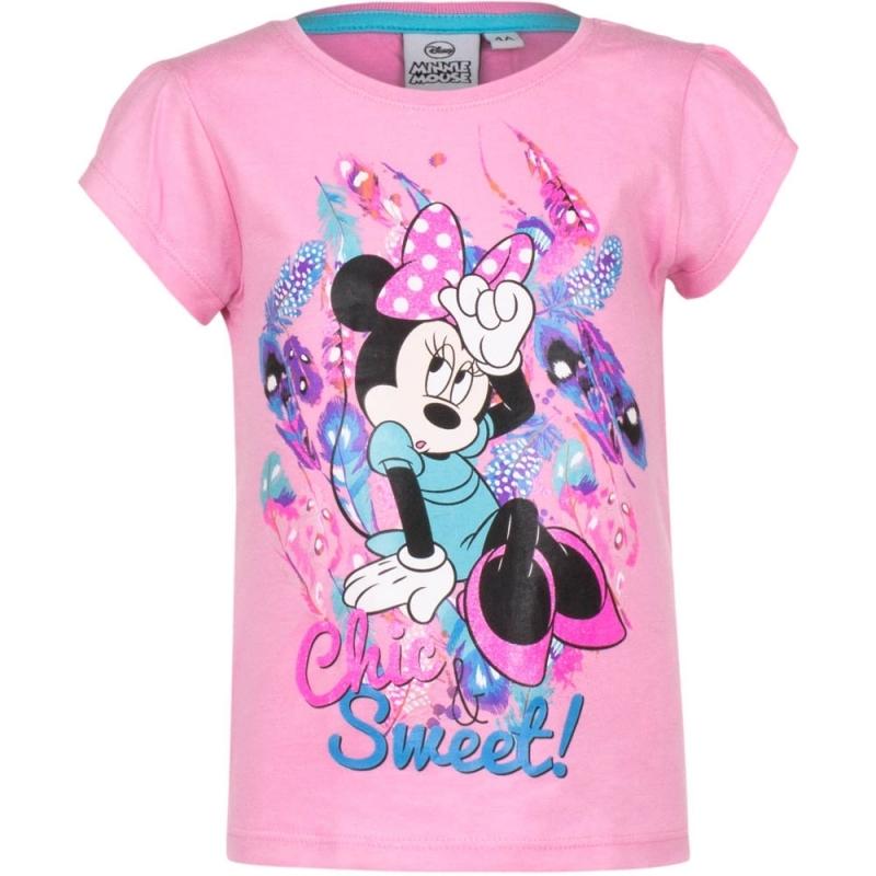 Minnie Mouse t shirt roze voor meisjes