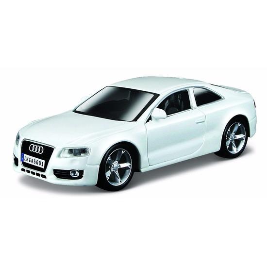 Modelauto Audi A5 wit 1:32