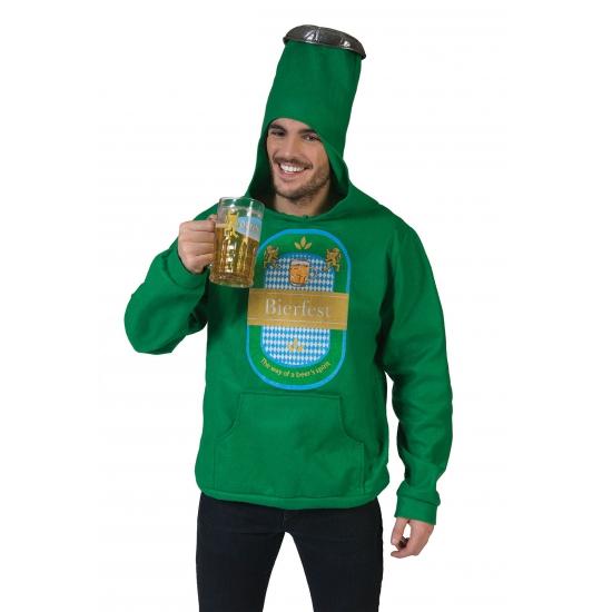 Oktoberfest Groene bierfles trui