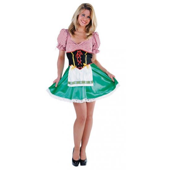 Oktoberfest Luxe Heidi jurkje dames