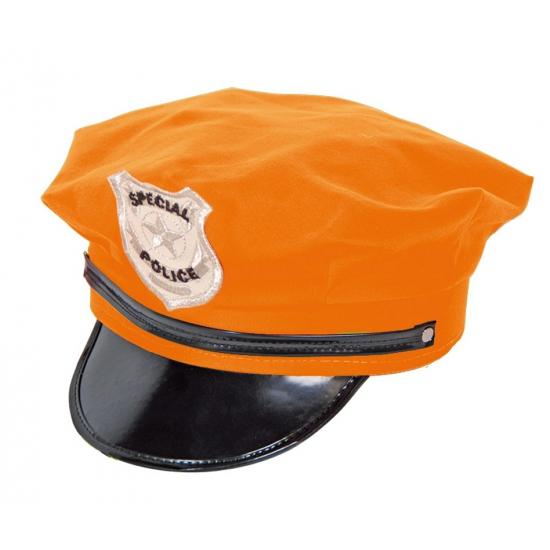 Oranje politie pet