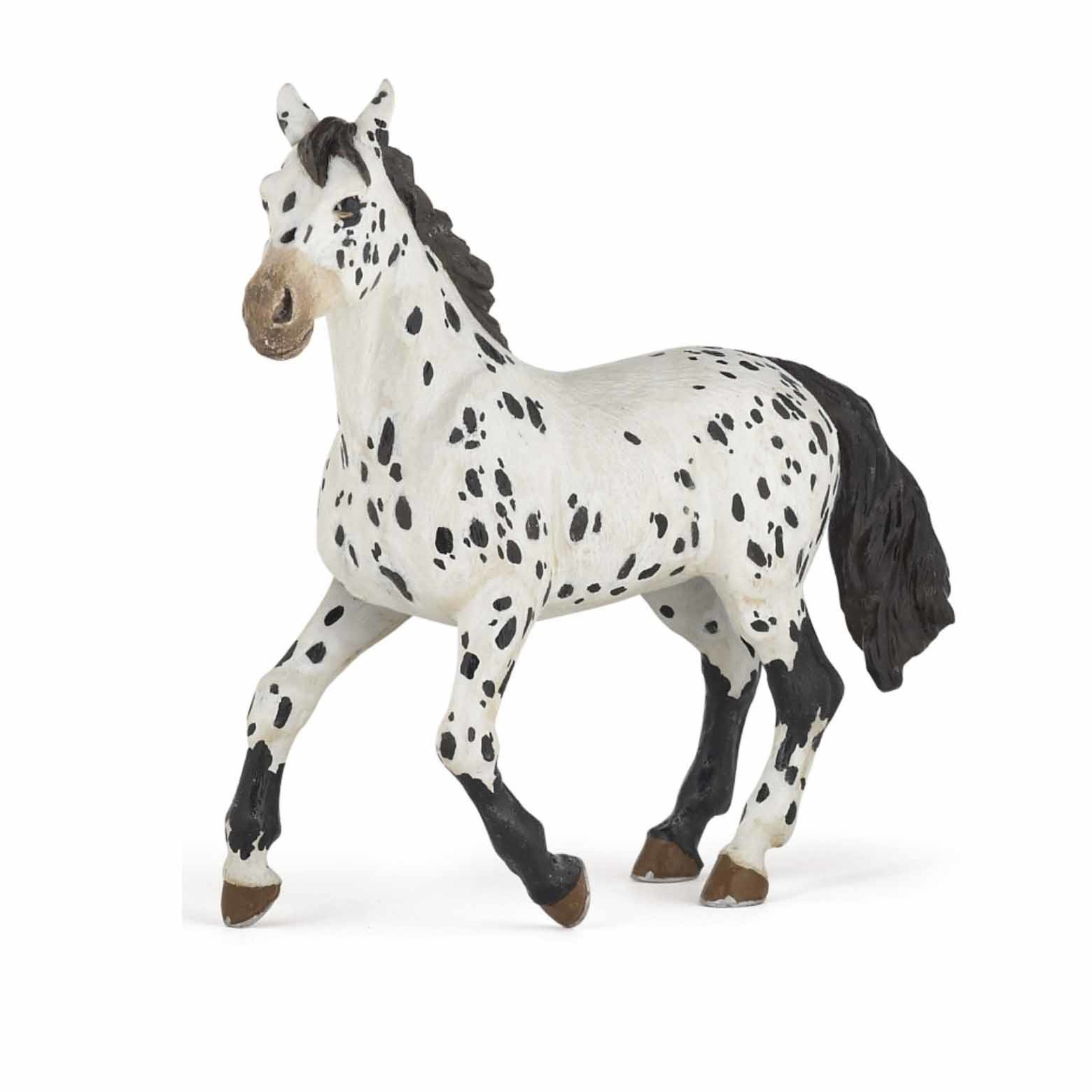 Plastic staand Appaloosa paard 13 cm