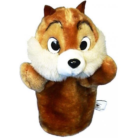 Pluche handpop eekhoorn
