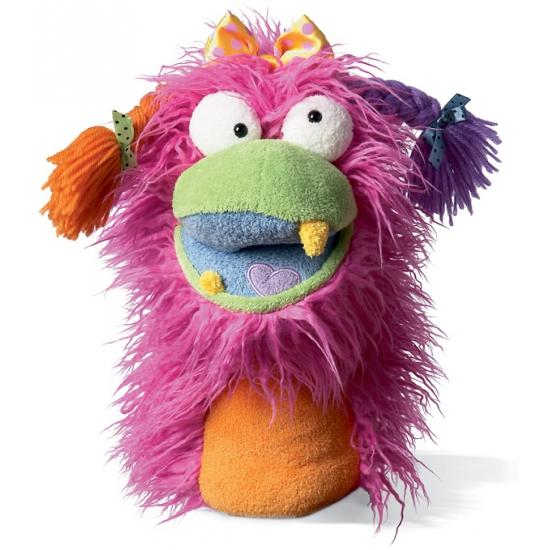 Pluche handpop Fuzzy Wuggs Girlie