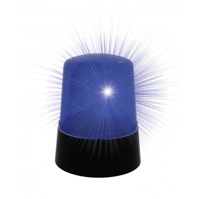 Politie lamp blauw