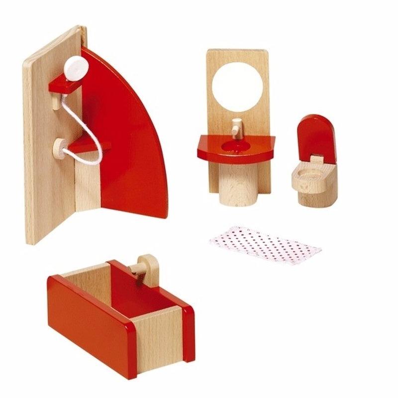 Poppenhuismeubeltjes badkamer