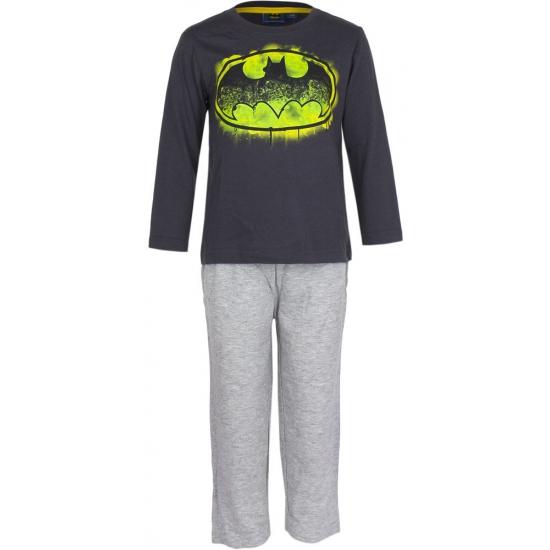 Pyjama Batman zwart met logo