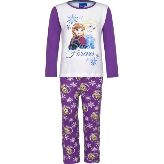 Pyjama Frozen Elsa en Anna paars