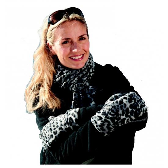 Result winterset luipaard print