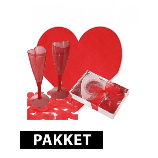 Romantisch diner pakket