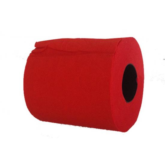 Rood toiletpapier
